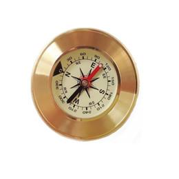 2019 metall geschenk kompass Runde Metallkompasse Delicate Durable Messing Kompass Anti Wear Clear Scale EDC Werkzeuge Für Geburtstagsgeschenk 9 5 mw B günstig metall geschenk kompass