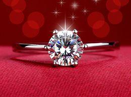 Rabatt Verkaufen Diamant Verlobungsringe 2018 Verkaufen Diamant