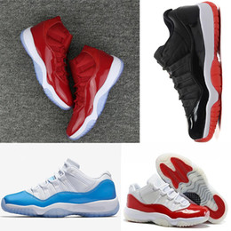 Wholesale Box Culture - With box 2018 11 Gym Red Space Jam Chicago Win like 82 11s Men Basketball Shoes Women Athletic Sports Sneakers US 5.5-13