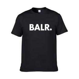 2018 nuova estate marchio BALR abbigliamento O-Collo giovani T-shirt da uomo stampa Hip Hop t-shirt 100% cotone moda uomo T-shirt da