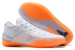 a20658fc8f3a 2018 New Kobe A.D. NXT 360 Yellow Strike Mamba Day bryant Multicolor Mens  Basketball Shoes men Wolf Sports Sneakers Size 7-12