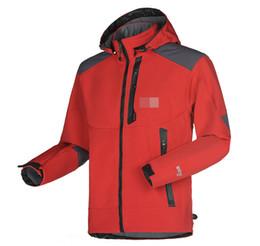 Wholesale Men Long Green Jacket - Wholesale-Men Waterproof Breathable Softshell Jacket Men Outdoors Sports Coats women Ski Hiking Windproof Winter Outwear Soft Shell jacket