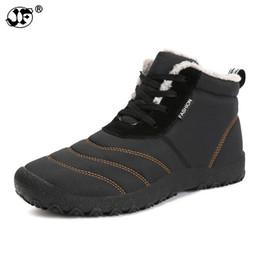 Argentina Super Warm Men Botas de invierno para hombres Warm Waterproof Botas de lluvia Shoes 2018 New Men's Botas de tobillo para nieve Botas Masculina bota supplier men's waterproof snow boots Suministro