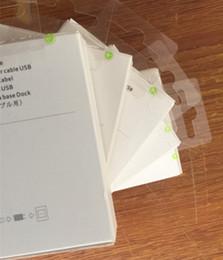 Canada 100 pcs Avec la boîte de détail 2m 6FT OD 3.0mm A +++++ Qulaity Câble de chargeur de synchronisation de données USB pour ipad mini Air iPhone 7 6s 6 plus 5s Offre