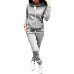 roupas elegantes e elegantes para mulheres Desconto Hirigin 2018 Mulheres conjunto de duas peças de treino para as mulheres elegante top e calças set das mulheres ternos de treino ocasional de fitness verão roupas
