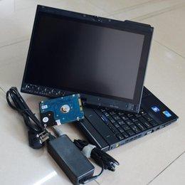 computador de diagnóstico de carro vw Desconto Mais novo alldata atsg disco 1000 gb auto reparo instalado no laptop x201t touch screen diagnóstico computador para carro e caminhão