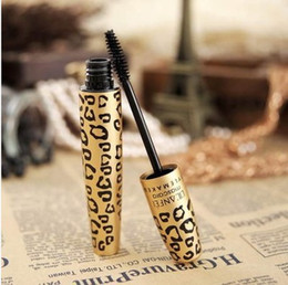 Canada 2018 Vente Chaude 3D Fiber Noir Curling Long Cils Mascara Mascara Naturellement Léopard cheap long lashes naturally Offre