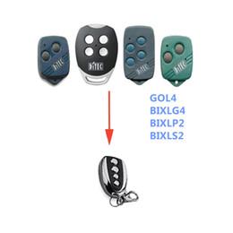 Argentina Para la puerta de garaje de reemplazo ditec, código rodante remoto 433.92 mhz cheap rolling code remote replacement Suministro