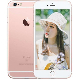 Wholesale Mobile Phone Box Original - Refurbished Original Apple iPhone 6S real fingerprint Mobile Phone 4.7 Inch 16GB 64GB IOS 8.0 sealed box