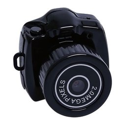 2019 брелок цифровой диктофон 2018 Новый Y2000 Mini Camera Kit DV Видеокамера Цифровой рекордер Micro DVR Видеокамера HD Веб-камера Маленькая камера Thumb with Keychain дешево брелок цифровой диктофон