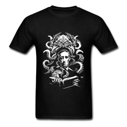 Camiseta barata online-2017 Camiseta de Manga Corta Amor Cthulhu camiseta Algodón Barato Camisetas de Verano Para Hombre de Regalo Camisetas Tops