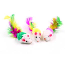 brinquedo colorido do cão do luxuoso Desconto Engraçado gato gordo brinquedos Lindo Rato colorido para Cães Gato jogando brinquedos de pelúcia Pet suprimentos ratos animais brinquedo