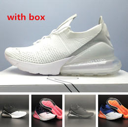 Wholesale green box price - with box 27c 270 Running Shoes top quality men and women Athletic sports Sneakers free shipping wholesale price