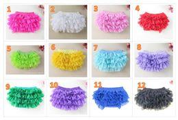 Wholesale Wholesale Chiffon Bloomers - INS baby girl infant toddler kids lace bloomers lace pants lace shorts chiffon pants tutu costumes cute underpants pp pants