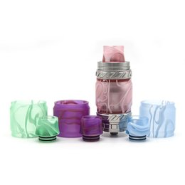 Смола стекло эпоксидной трубки плюс смолы капельного наконечника комплект замена для Smok tfv12 принц танк DHL бесплатная доставка от Поставщики смесь материалов