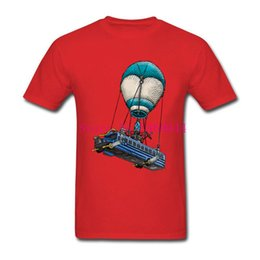 3D Fortnite Battle Royale 's Bus T Shirts Achats en ligne 100% coton Hommes T Shirts Summer Dress T-shirt grande taille ? partir de fabricateur