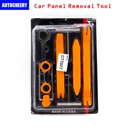 Wholesale Peugeot Audio - DHL Free shipping Car panel removal tool for car audio exterior interior trim dash door panel(include 12pcs set)