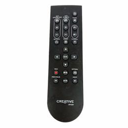 Sistemas de control de video online-Usado Original PARA Creativ.e RM-850 Xmod Wireless X-Fi Sistema de música inalámbrico Control remoto