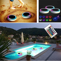 Radient Ip68 Piscine With Remote Control Rgb Submersible Light Swimming Pool Light Durable Led Bulb Portable Underwater Led Lamps Lights & Lighting