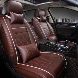 Copri sedile volvo online-Coprisedili per auto da viaggio quattro stagioni Coprisedili per auto universale per veicoli mazda 3 6 toyota RAV4 Hyundai volvo ford coprisedili
