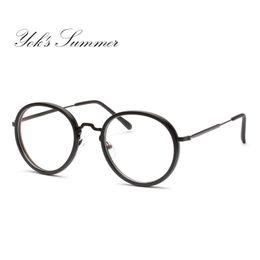 d0b1f7e471d Yok s Small Round Eyeglass Frame Retro Thin Metal Optical Spectacle Glasses  Frame Accessory Brand Prescription Eyewear Frame WN100