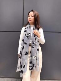 Wholesale Large Wool Pashmina - 2018 Cashmere Blended Shawl Solid Color Modeling Design Winter Warm Fashion Lady Long Blanket Soft Shawl Large Size 65cmx180cm 2 Color