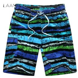 nuevos éxitos Rebajas Laamei Summer Cool Board Shorts Hombre Casual Quick Dry Soft Trunks Hombres Nueva calidad suelta Hot Brand Pantalones cortos Hit Shorts