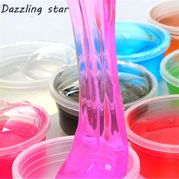 Wholesale Musical Play - 25g Kids Baby Fun Toys Crystal Fruit Magnetic Colored Clay Mud Intelligent Hand Gum slime Plasticine Rubber Mud Playdough Gift