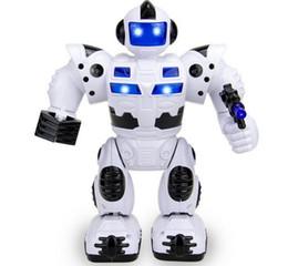 Licht ace online-Vorbildliche Spielzeug-Simulationspistole des elektrischen Asagentenroboters der Kinder leichte Musikband