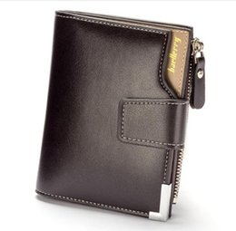 Borse grandi monete in pelle online-fashion small Wallet Men soft leather wallet Multi-function big capacity Top Quality Men wallets purse with coin pocket