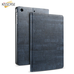 """Wholesale Air Stones - KISSCASE Leather Smart Sleep Cover For iPad Air 1 2 Ultra Thin Rock Stone Skin Flip Case Tablet Protector For iPad Air 1 2 9.7"""""""