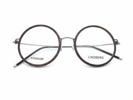Diseño de la marca de las mujeres de los hombres de las mujeres de titanio retro ultra ligero marco óptico de alta calidad marco de gafas ópticas claras lentes de prescripción GU1967 desde fabricantes