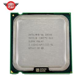 Canada Processeur Intel Core 2 Duo E8500 Processeur Dual Core 3.16Ghz FSB1333MHz 775 cpu Offre