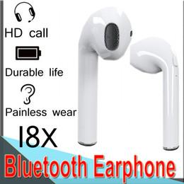 I8X Mini Bluetooth Casque Casque Chargeur Boîte In-Ear Invisible Oreille Air Brut Sans Fil Écouteur Musique Mic Casque pour IOS Android EXCTI8X ? partir de fabricateur