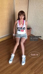Wholesale Oral Sex Beautiful - WMDOLL 148cm 3d Lifelike big breast Japanese real silicone sex doll adult sexy toys for men beautiful Japan Asian oral head TPE