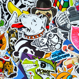 Wholesale mirror bikes - 100 Car Styling JDM decal Stickers for Graffiti Car Covers Skateboard Snowboard Motorcycle Bike Laptop Sticker Bomb Accessories