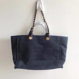 2019 grands sacs de plage De Bonne Qualité Sac de plage en toile pour femmes 38cm Grand sac à main Shopping décontracté Sacs fourre-tout plus de couleurs