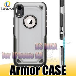 étui de protection pour iphone Promotion Pour iPhone XR XS MAX X Samsung Note 9 S9 S9Plus Hybrid Armor Case Heavy Duty Étui de protection robuste pour iPhone 8