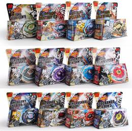 Wholesale mini beyblade battle - 24 Styles Beyblade Booster Alter Spinning Gyro Launcher fidget spinner Starter String Booster Battling Beyblades Beyblade Toy GGA242 100pcs