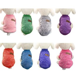 Wholesale Cheap Extra Large Dog Coats - Hot Sale Pet dog clothes for small dogs winter warm coat sweater puppy chihuahua cheap clothing for dog roupa para cachorro