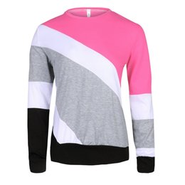 86a3f51a5cac Chinese European and American autumn winter wear ladies sweater top sexy  round neck color design casual