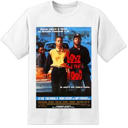 Detalles zu BOYZ N THE HOOD PELÍCULA DEL CARTEL DE LA CAMISETA Menace To Society Compton NWA Dre Ice Cube Divertido envío gratis Unisex Casual regalo desde fabricantes
