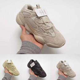 2019 venda de botas de futebol frete grátis Top qualidade mens sapatos 500 Blush Deserto Rato 500 Super Moon amarelo tênis 500 utilitário preto sapatilha calçados esportivos