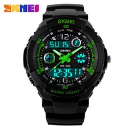Wholesale Diving Men S Watch - Wholesale-S Shock skmei 0931 men wristwatch military digital led sports quartz watches dive luxury brand men watch relogio masculino 2018