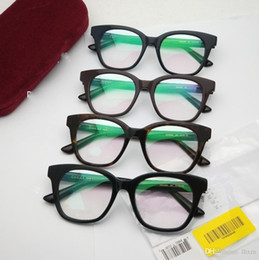 4cdfb3707a62 plain style glasses 2019 - Brand design-2018 new sheet glass frame all-style