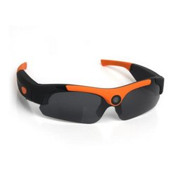 Wholesale outdoor wide angle camera - 1080P Sports Polarized Sunglasses Wide-angle Digital Glasses Climbing Outdoor Intelligent Camera Glasses