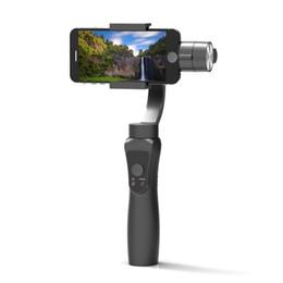 DHL Free Shipping Smooth 3-Axis Gimbal Handheld Estabilizador portátil para iPhone 8 X Xiaomi Samsung S9 S8 S7 Teléfono inteligente Cámara Gopro Action desde fabricantes
