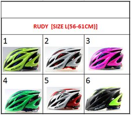 Wholesale style helmets - RUDY Style Integrally Molded Ultralight Breathable Bicycle Road Cycling Helmet Casco Ciclismo Capacete Cascos Para Bicicleta wholesale