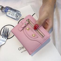 Девочки маленькие мешки денег онлайн-Новый PU женщин бумажник и кошельки портмоне женский небольшой Portomonee Rfid Walet Леди Perse для девочек мешок денег