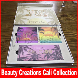 Wholesale christmas state - 3 in 1 CALI COLLECTION by Beauty creations SUMMER STATE OF MIND eyeshadow set CALI CHIC CALI GLOW makeup set
